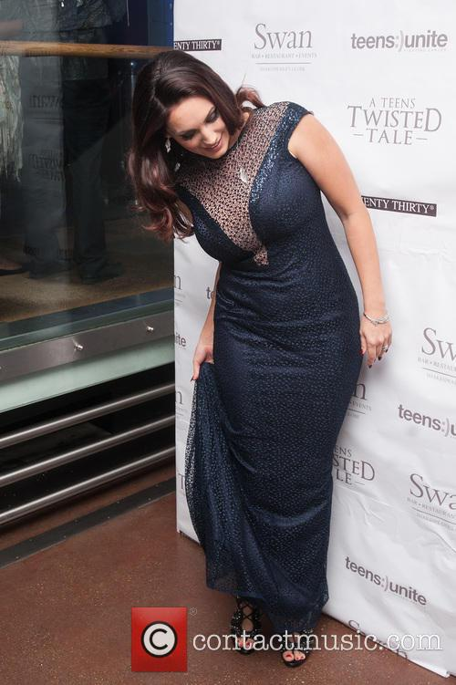 Kelly Brook hosts 'A Teens' Twisted Tale' charity...