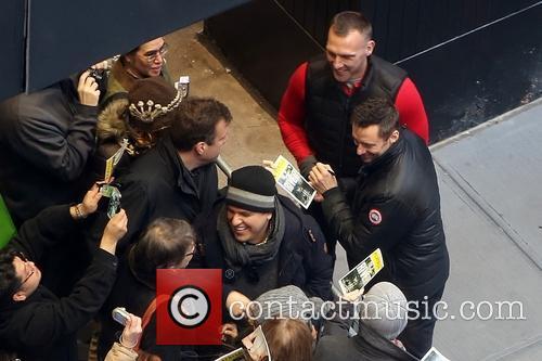 Fans, Bodyguard and Hugh Jackman 2