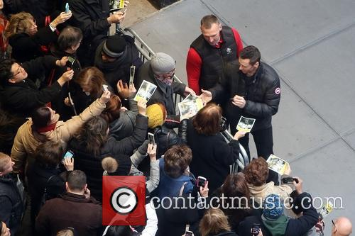 Fans, Bodyguard and Hugh Jackman 3
