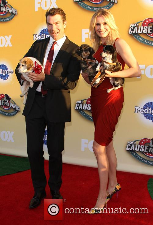Jerry O'connell and Rebecca Romijn 5