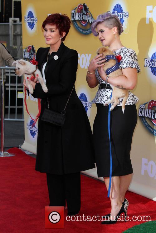 Sharon Osbourne and Kelly Osbourne 9