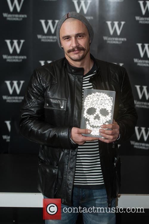 James Franco book signing