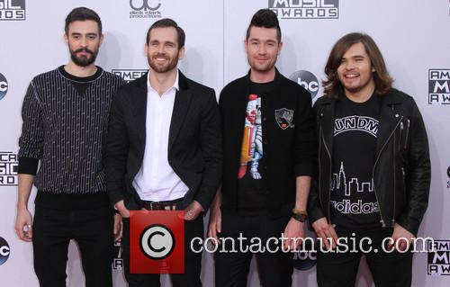 Bastille, Kyle Simmons, William Farquarson and Dan Smith 2