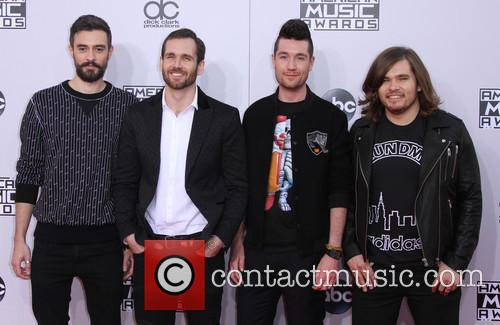 Bastille, Kyle Simmons, William Farquarson and Dan Smith 1