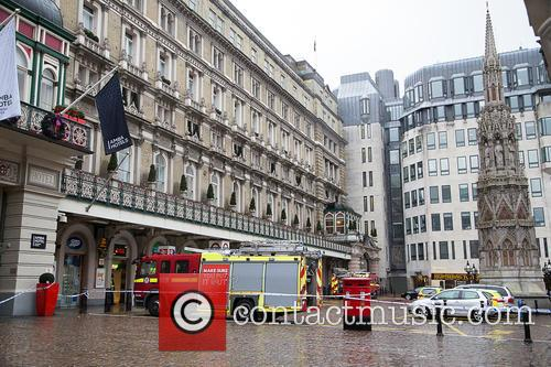 The London Fire Brigade are called to Charing...