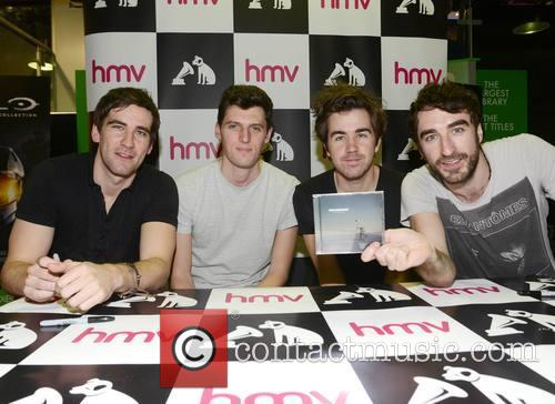The Coronas, Conor Egan, Graham Knox and Danny O'reilly 2