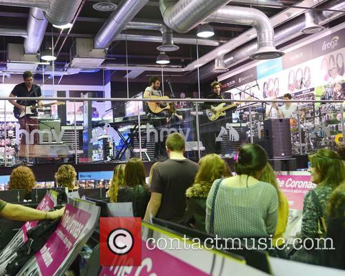 The Coronas, Danny O'reilly, Graham Knox and Conor Egan 4