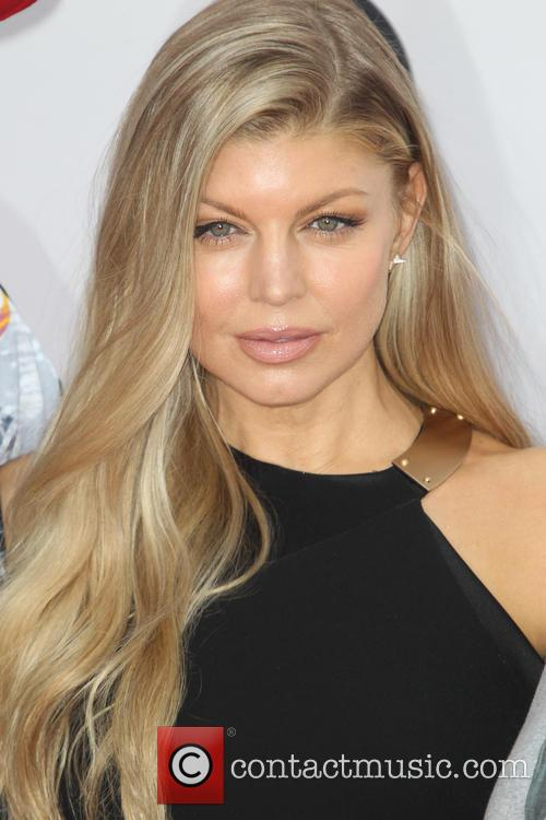 Fergie at the 2014 American Music Awards