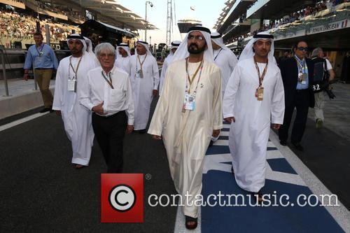 Maktoum Ben Rachid Al Maktoum, Maktum and Bernie Ecclestone 2