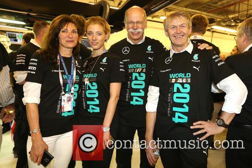 Nora Zetsche, Dieter Zetsche and Dr. Thomas Weber 2