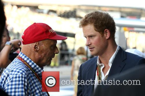 Prince Harry Of Wales and Niki Lauda 1