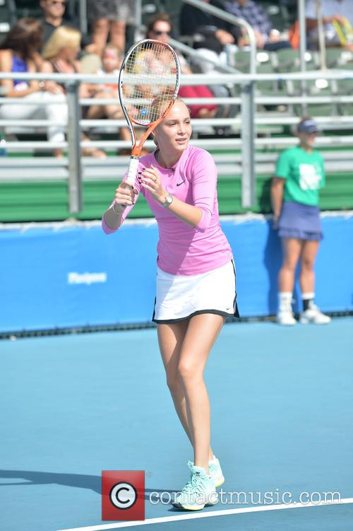 Tennis and Donna Vekic 7