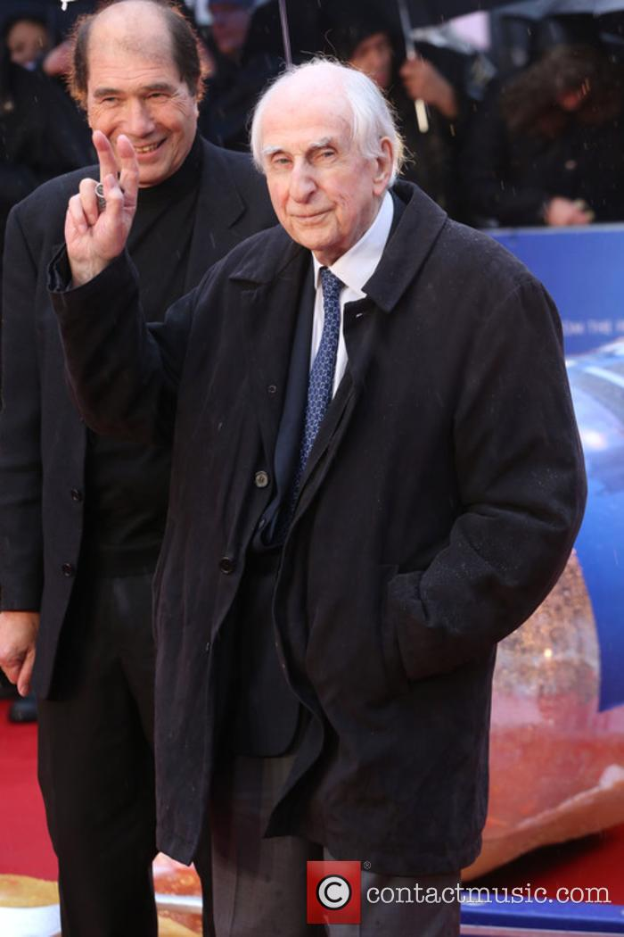 Michael Bond at the 'Paddington' premiere