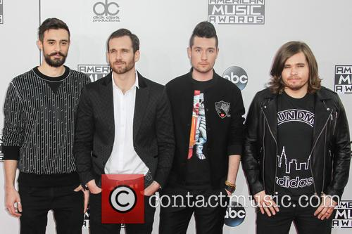 Kyle Simmons, William Farquarson, Dan Smith, Chris 'woody' Wood and Bastille 1