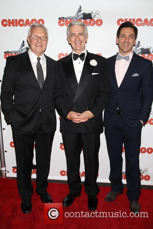 Walter Bobbie, James Naughton and Michael Berresse