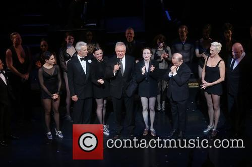 Christopher Fitzgerald, Bianca Marroquin, James Naughton, Ann Reinking, Walter Bobbie, Bebe Neuwirth, Joel Grey, Amra-faye Wright and Raymond Bokhour
