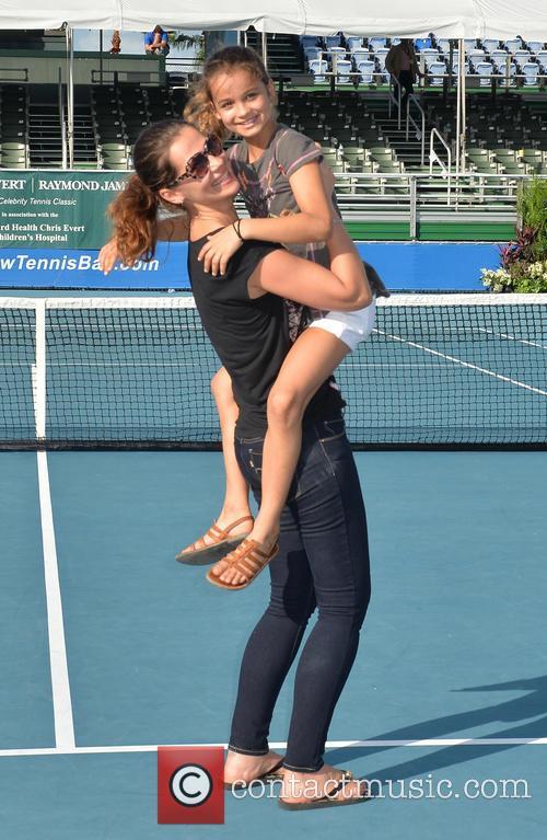 Tennis, Julia Lemigova and Emma Lemigova