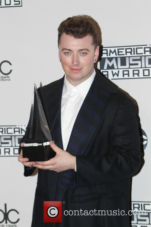 Sam Smith at the 2014 American Music Awards