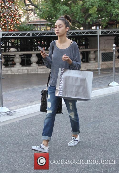 Cara Santana goes shopping at The Grove