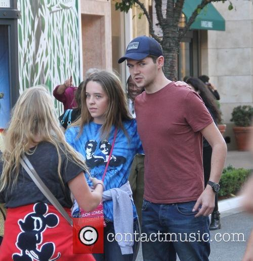 Damian McGinty poses for fans at The Grove