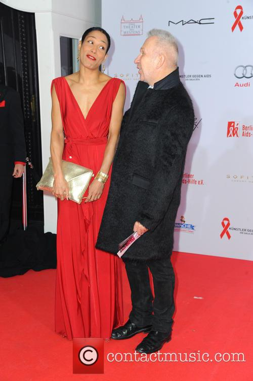 Annabelle Mandeng and Jean-paul Gaultier 1