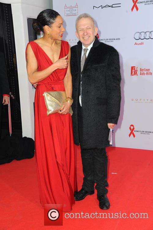 Annabelle Mandeng and Jean-paul Gaultier 2