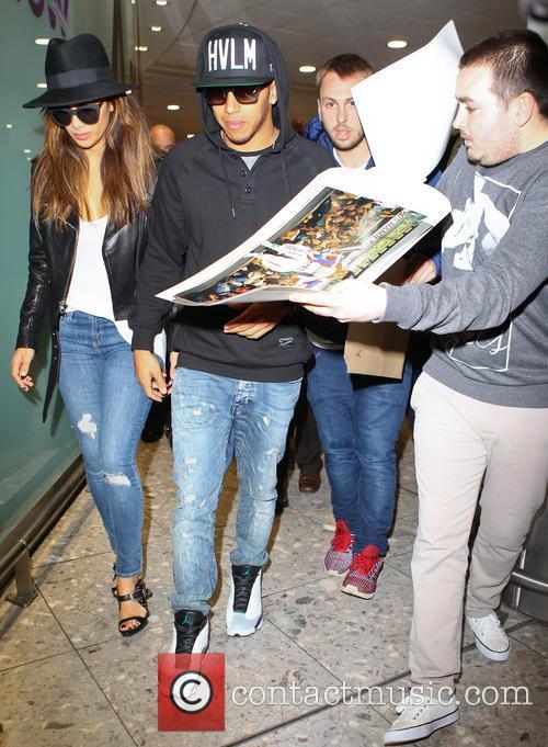 Lewis Hamilton and Nicole Scherzinger 6