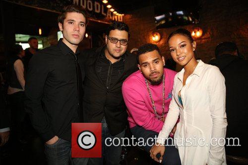 Kristos Andrews, Gregori J Martin, Chris Brown and Karrueche Tran 3