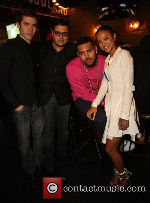 Kristos Andrews, Gregori J Martin, Chris Brown and Karrueche Tran
