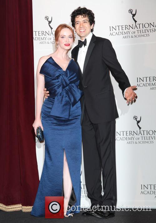 Christina Hendricks and Geoffrey Arend 4