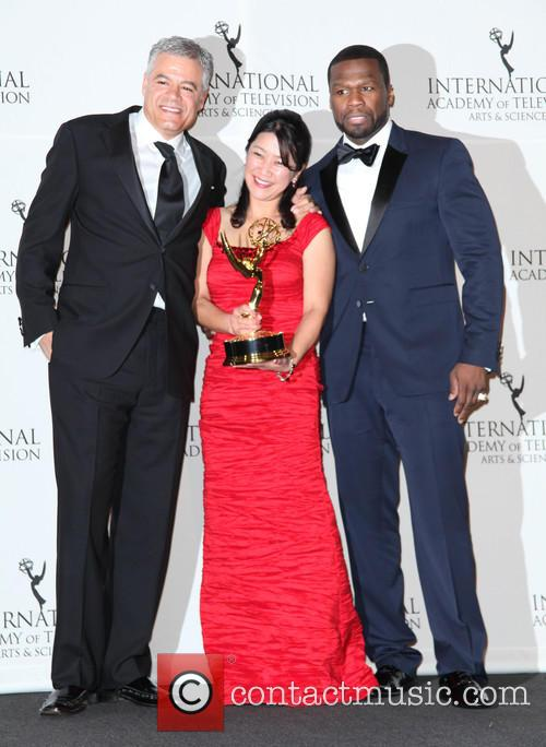 Damon Vignale, Miho Yamamoto, Curtis Jackson and 50 Cent 1