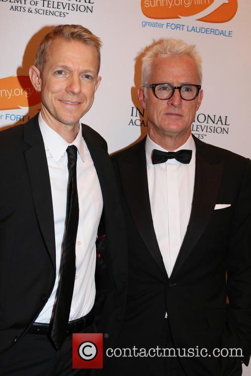Kevin Beggs and John Slattery