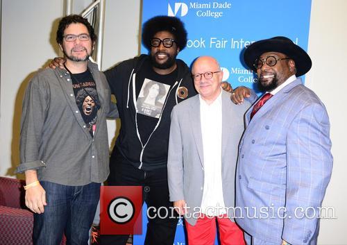 Ben Greenman, Questlove, Dr. Eduardo Padron and George Clinton 4