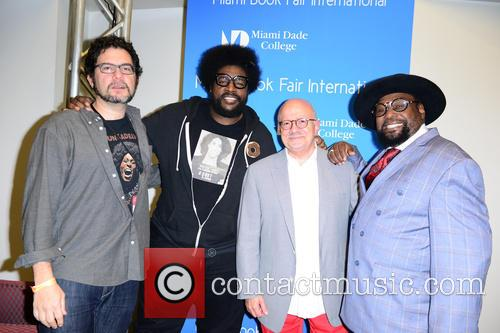 Ben Greenman, Questlove, Dr. Eduardo Padron and George Clinton 1