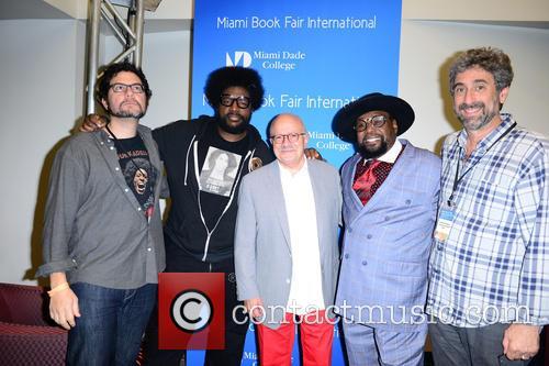 Ben Greenman, Questlove, Dr. Eduardo Padron, George Clinton and Mitchell Kaplan 5