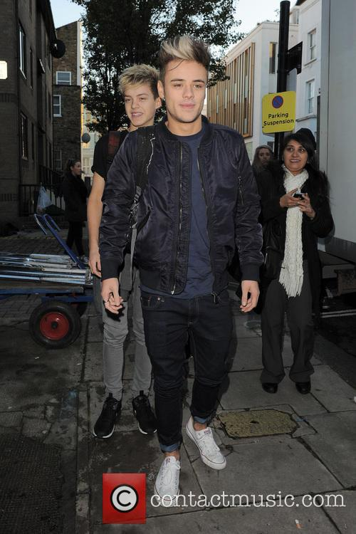 'The X Factor' finalists arrive at a recording...