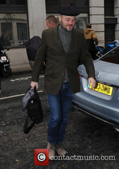 Al Murray outside BBC Radio 2