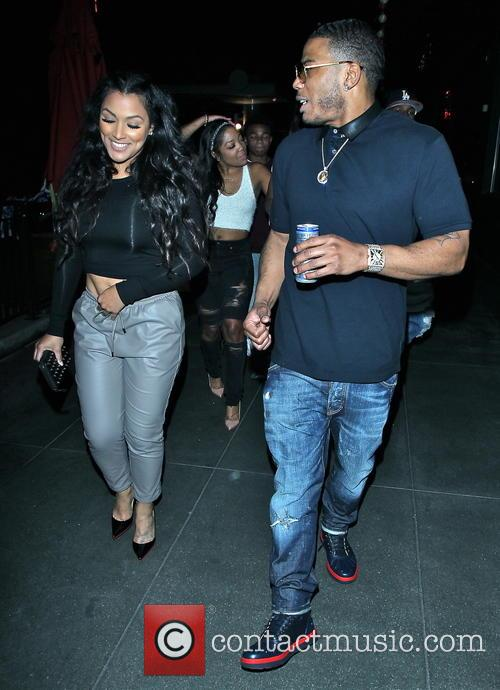 Nelly and Shantel Jackson 4