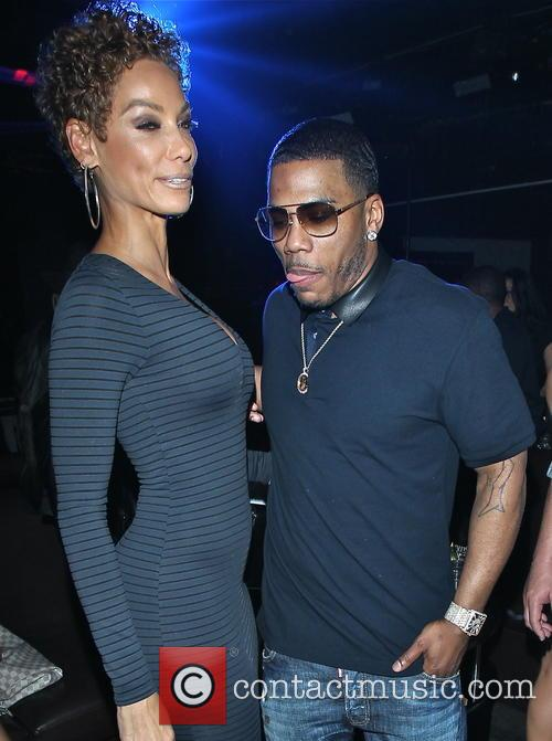Nicole Murphy and Nelly 7