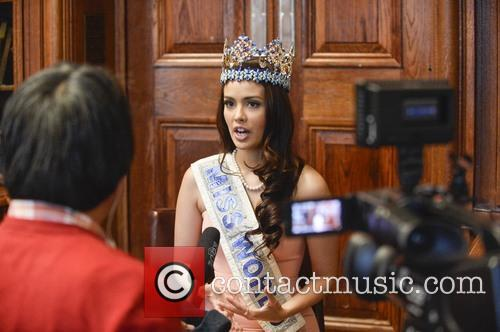 Reigning Miss World Megan Young 2