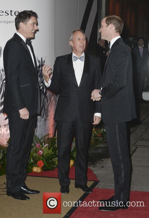 Prince Williams arrives at Tusk awards, London, England...