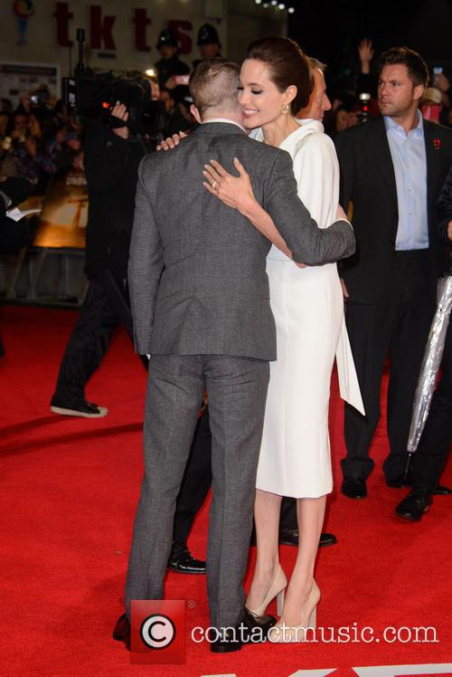 Jack O'connell and Angelina Jolie 7