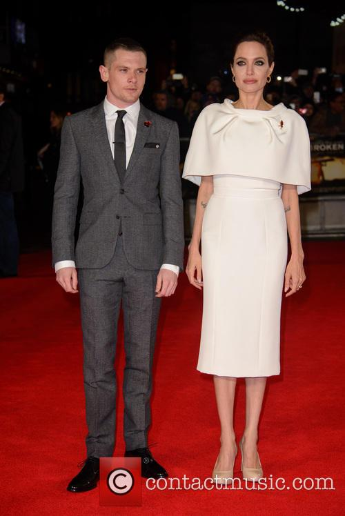 Jack O'connell and Angelina Jolie 8