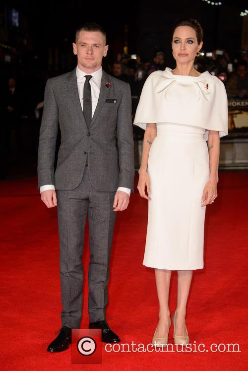 Jack O'connell and Angelina Jolie 9