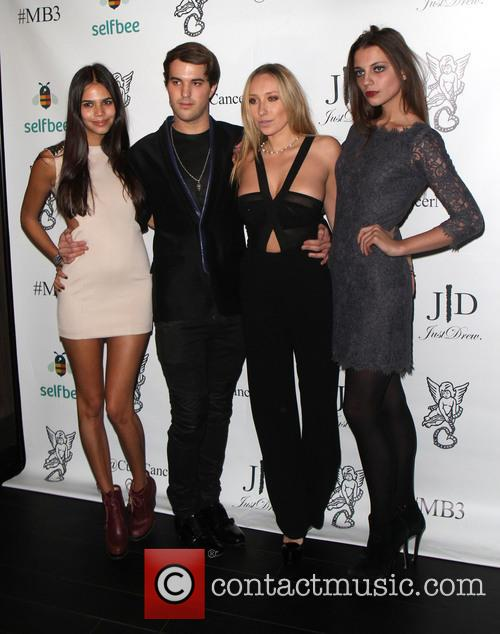 Reya Benitez, Andrew Warren, Gaia Matisses and Sadie Friedman 3