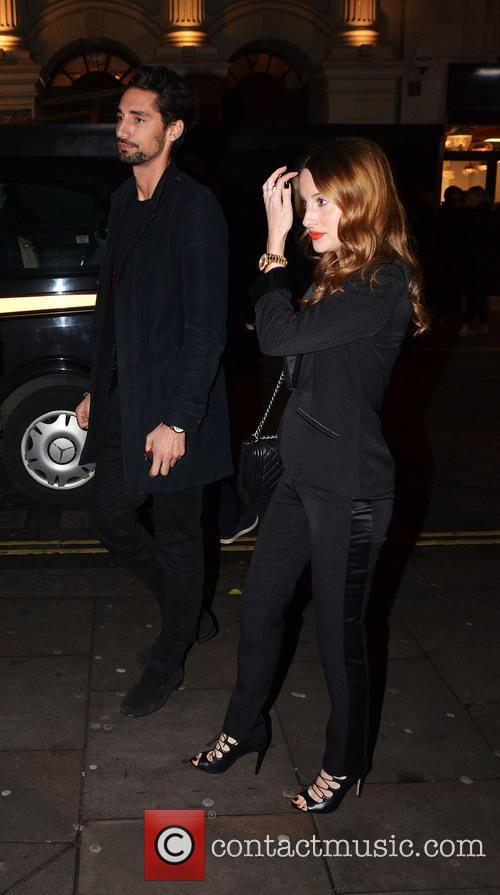 Hugo Taylor and Rosie Fortescue 2