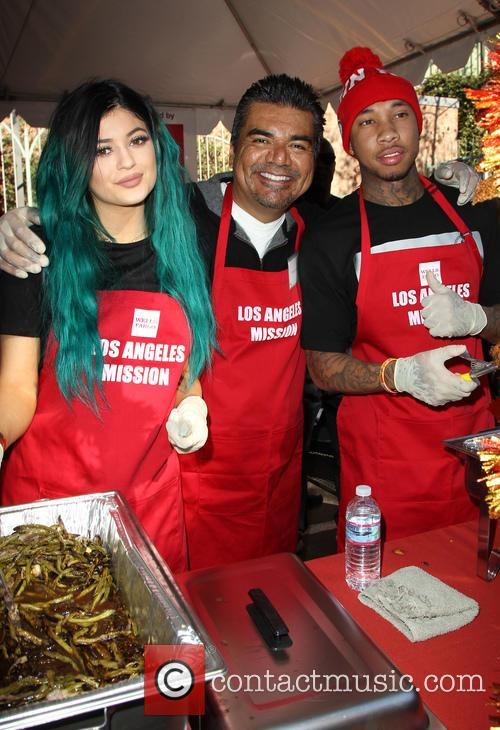 Kylie Jenner, George Lopez and Tyga 8