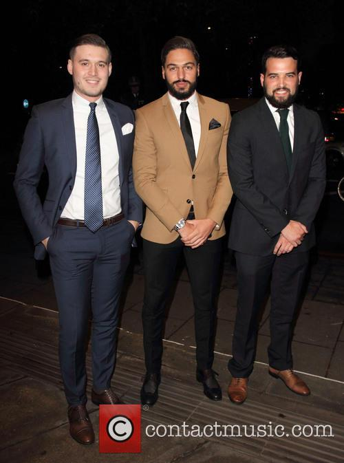 Charlie Sims, Mario Falcone and Ricky Rayment 1