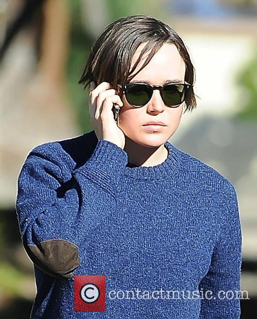 Ellen Page out and about in Los Angeles