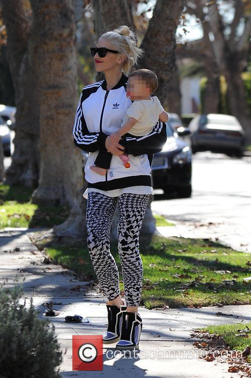 Gwen Stefani and her kids out and about...